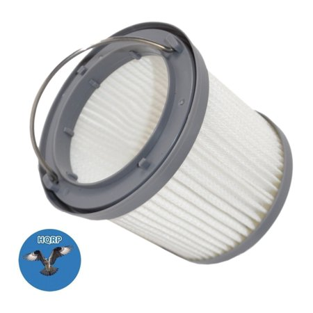 HQRP Washable Filter for Black & Decker BDH2000PL, BDH1600PL, BDH2020FLFH, BDH1620FLFH, BDH2020FL Flex Lithium Pivot Vac Vacuums + HQRP Coaster