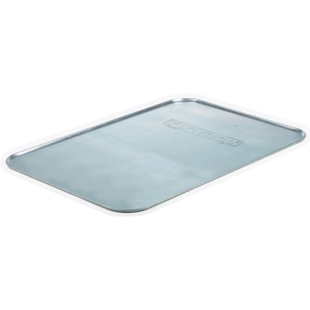 FloTool Galvanized Drip Tray - The FloTool Galvanized Drip Tray is a great work surface for messy jobs.  It aids in keeping excess waste off the garage/shop floor or driveway, 1 each, sold by (Best Way To Get Oil Off Driveway)