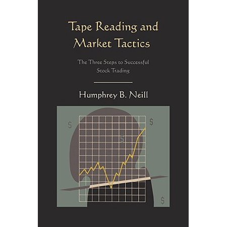 Tape Reading and Market Tactics : The Three Steps to Successful Stock Trading