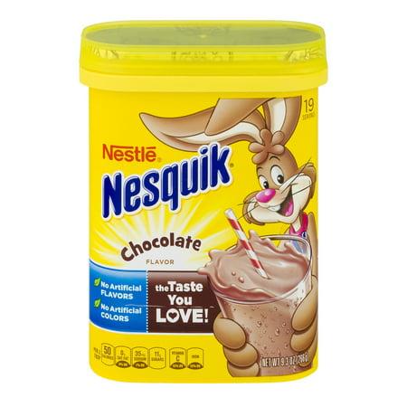 (3 Pack) NESTLE NESQUIK Chocolate Flavored Powder 9.3 oz. -