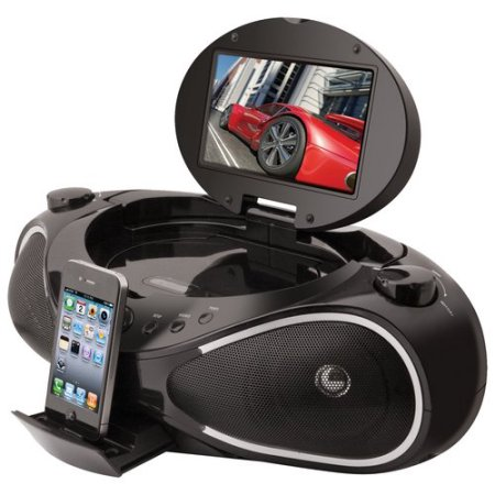 iLive IBPD882B iPhone Boombox
