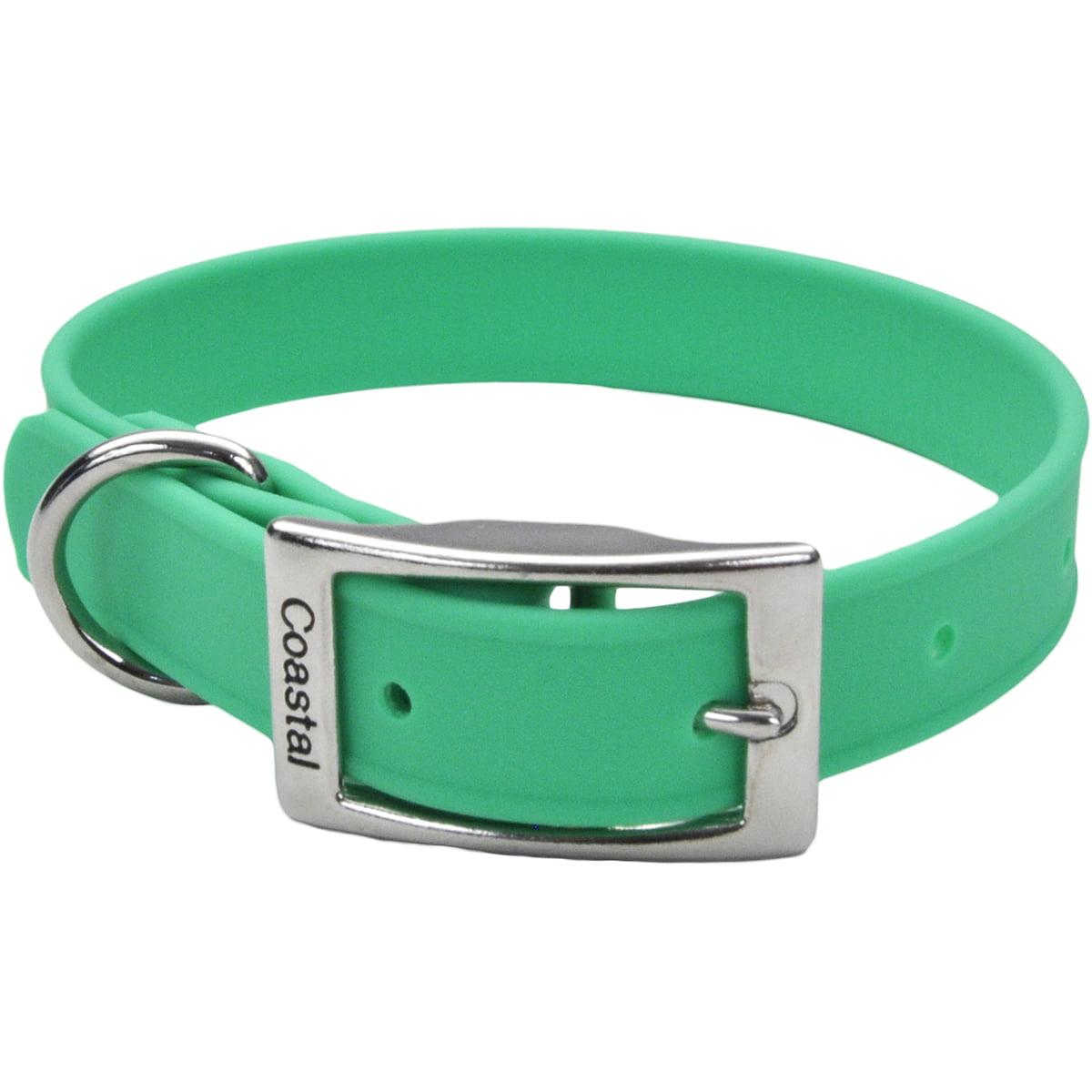 "Coastal 14"" Waterproof Dog Collar-Green - image 1 of 1"