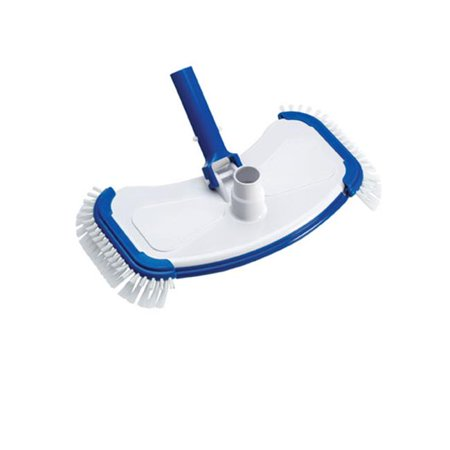 Ocean Blue Water Products 130015B Deluxe Weighted Vacuum Head with Side Brushes Deluxe Weighted Vinyl Liner Vacuum
