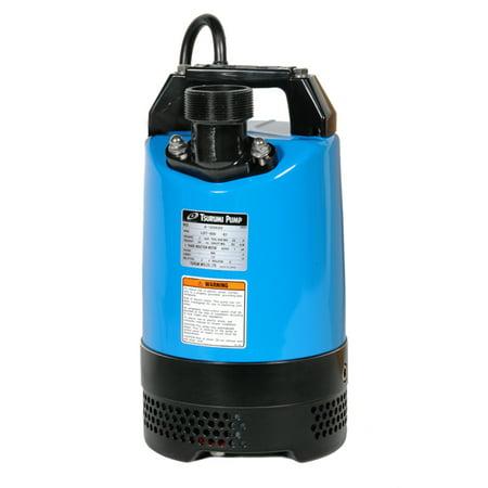 Tsurumi Lb 800 115 Volt 2 Inch Durable Electric Sump Dewatering Pump