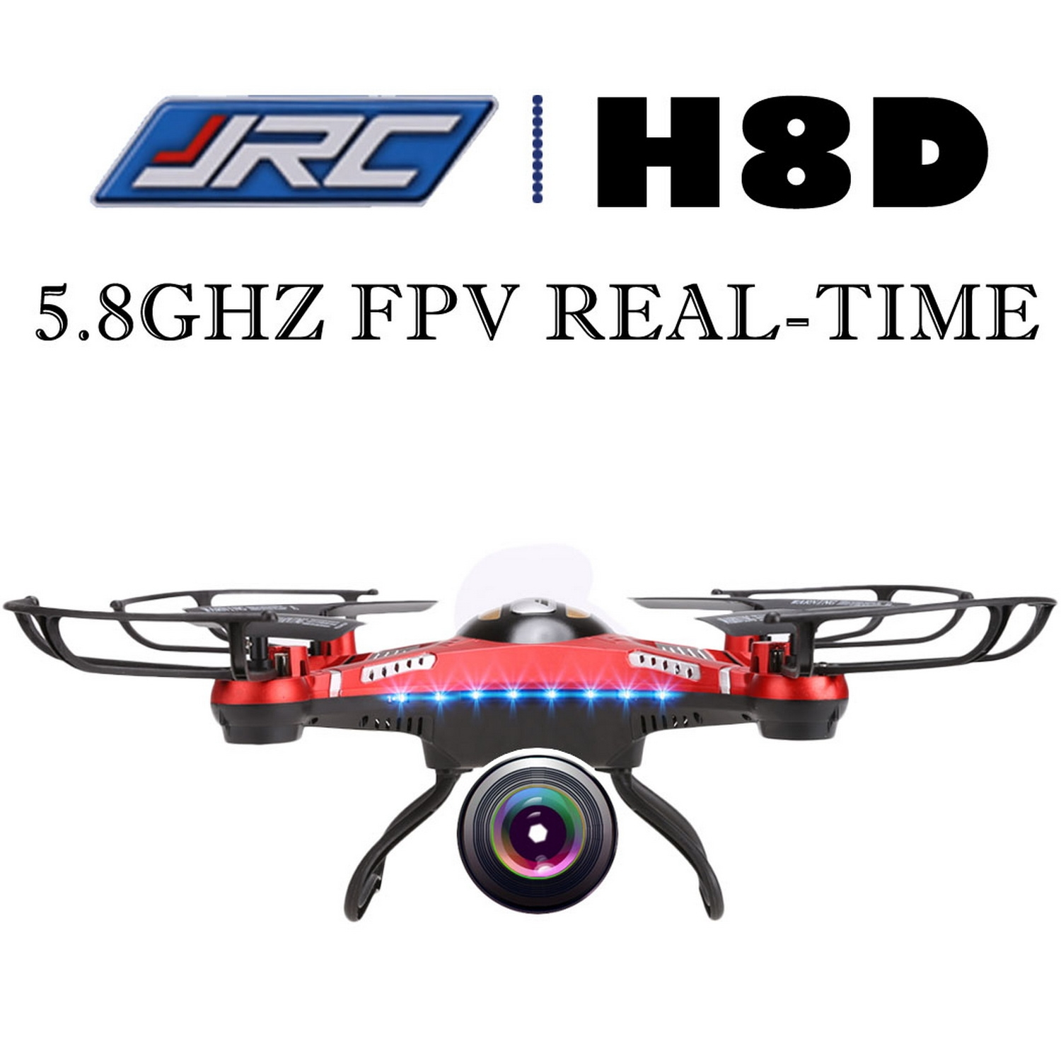 JJRC 6 Axis RC Quadcopter 2.4G 5.8GHz RC Flying Drone wit...