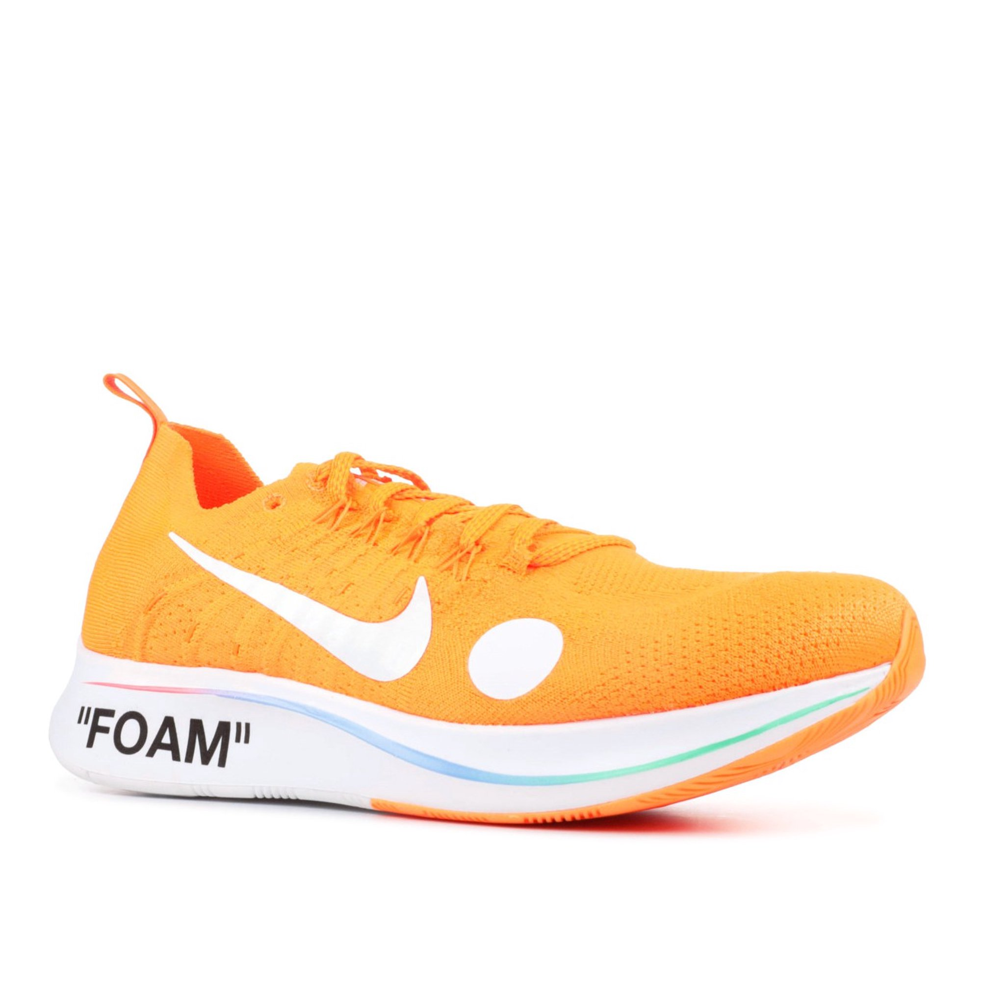 ever popular lower price with new products Nike - Men - Zoom Fly Mercurial Fk /Ow 'Off-White' - Ao2115-800 ...
