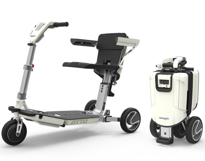 Atto Deluxe Folding Lightweight Mobility Scooter New Moving Life