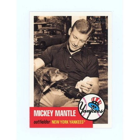 1952 Topps 311 Mickey Mantle - 2007 Topps Mickey Mantle Story #MMS19 Yankees No one Knows Card