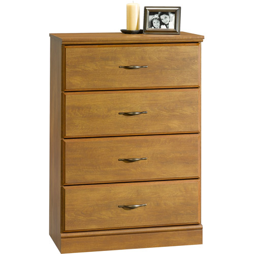 Mainstays The Cardinal Hill Collection 4-Drawer Chest, Hazelwood