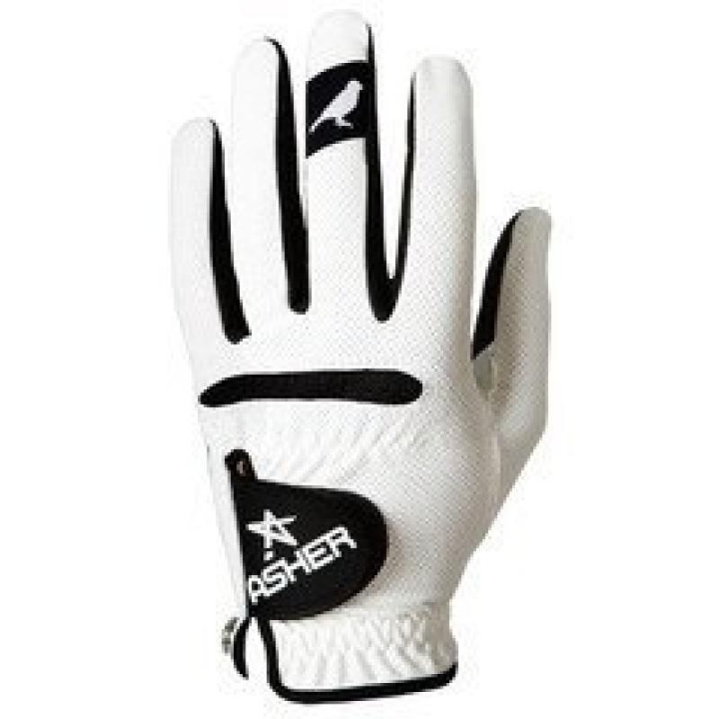 Asher Men's Cool Birdy Gray Golf Glove, Right Hand, X-Large