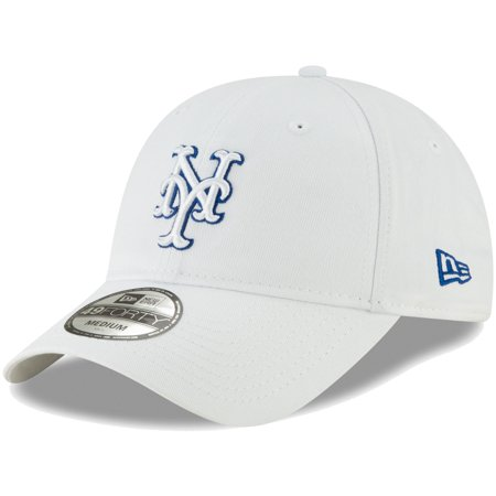 ddbc128f612 New York Mets New Era Core Pop 49FORTY Fitted Hat - White - Walmart.com