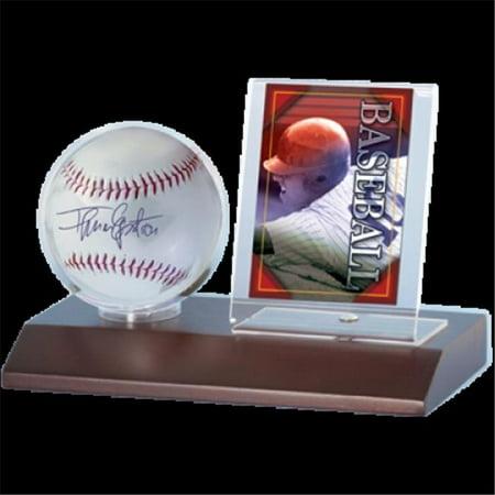 Wood Baseball Amp Card Holder Dark Wood Walmart Canada