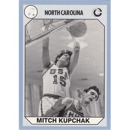 Mitch Kupchak Basketball Card (North Carolina) 1990 Collegiate Collection - Ladies Match
