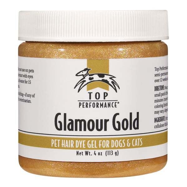 Top Performance Hair Dye Gel 4oz Glamour Gold