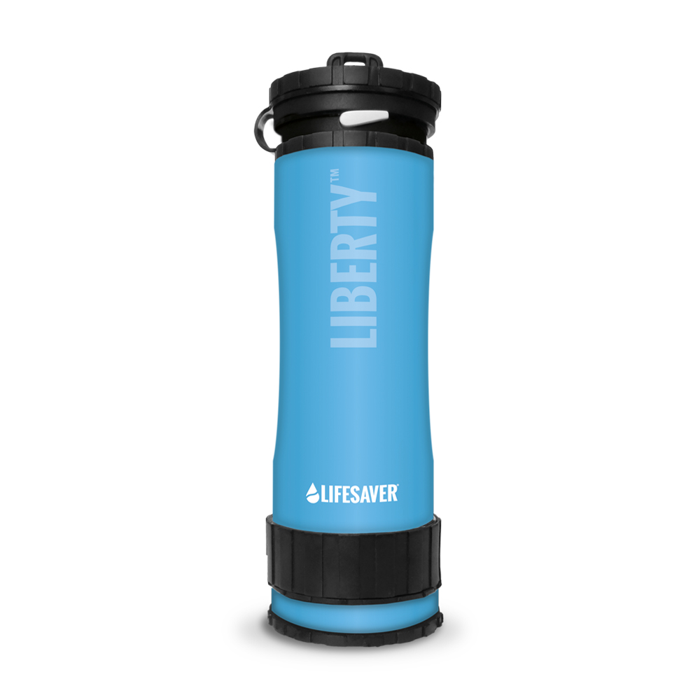 Icon Lifesaver Liberty Water Purification Bottle 2000 Liter Blue by Icon LifeSaver