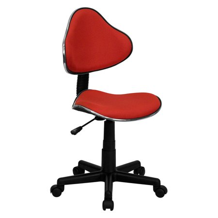 - Two Tone Task Chair with Ergonomic Seat and Back, Multiple Colors