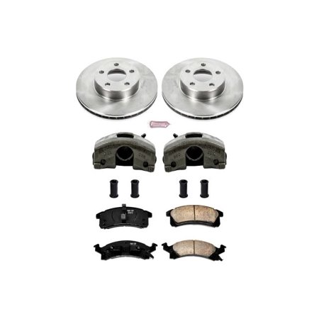 780 Front Brake (Power Stop KCOE3156 Autospecialty Brake Kit W/Calipers)