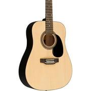 Rogue RA-090 Dreadnought 12-String Acoustic Guitar Natural