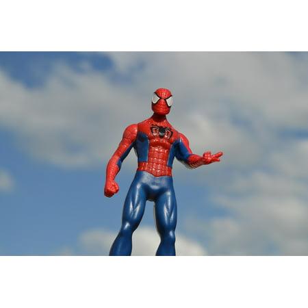 Superhero Posters (LAMINATED POSTER Action Figure Hero Toy Comic Spiderman Superhero Poster Print 24 x)