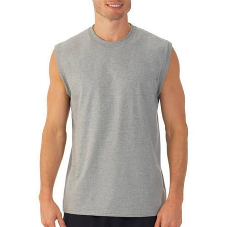 fruit of the loom sleeveless tees