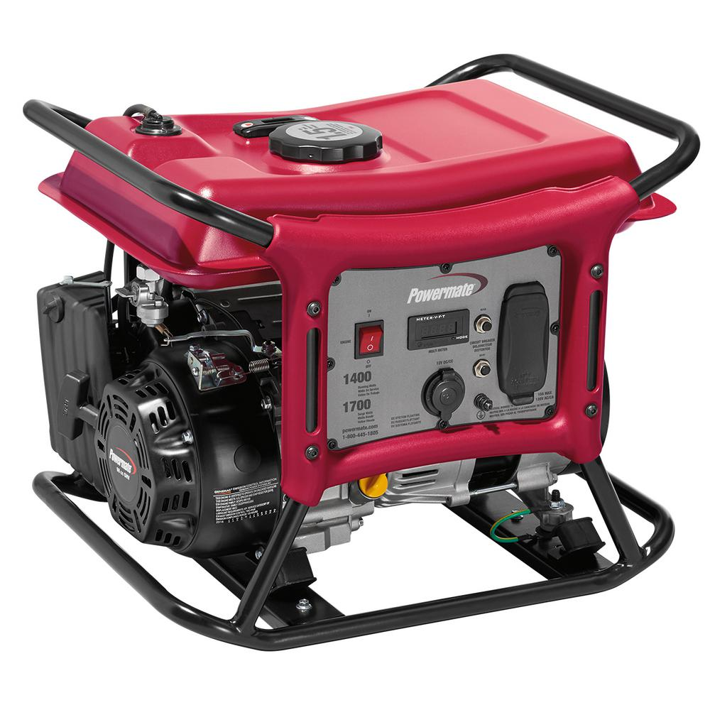 Powermate CX Series 1,400-Watt Gasoline Powered Recoil-Start Portable Generator (New Open Box)