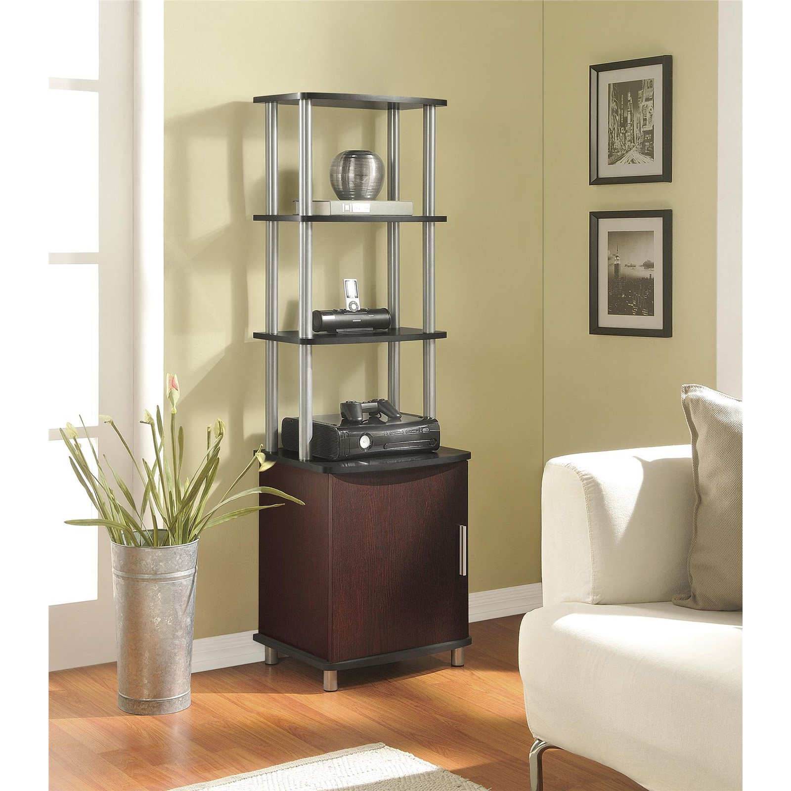 Ameriwood Home Carson Audio Stand, Multiple Colors
