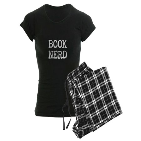 CafePress - Book Nerd - Women's Dark Pajamas