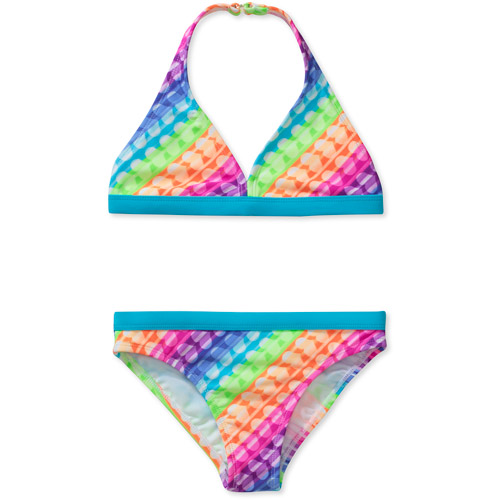 OP Girls' Value 2-Piece Bikini Love Showers