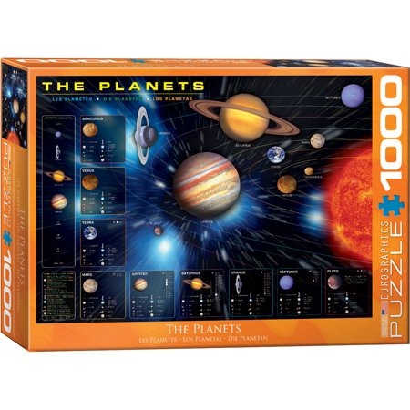 The Planets 1000 Piece Puzzle