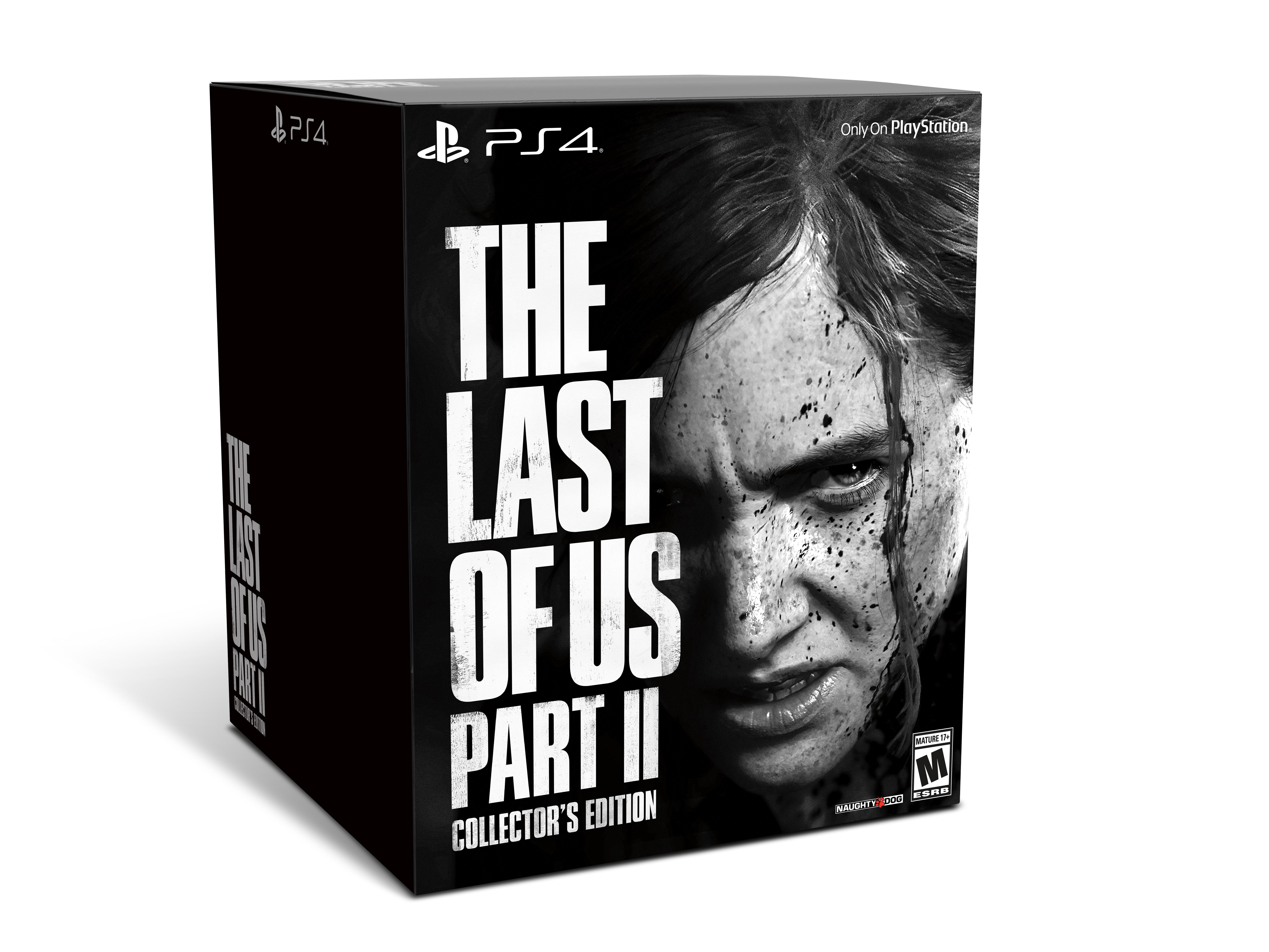 The Last Of Us Part Ii Collector S Edition Sony Playstation 4 711719529682 Walmart Com Walmart Com