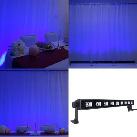 Efavormart 27 Watt Super Bright 9 LED Wall Washer Backdrop Lighting Spotlight Fixt For Wedding Birthday Party Event Decor