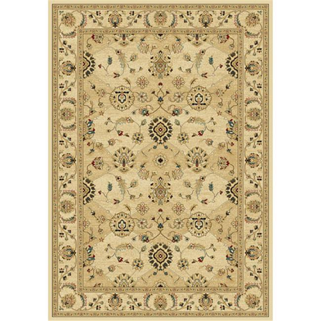 Central Oriental 2079WH69 Central Oriental 2079WH69 Radiance Catonsville Wheat 5 ft. 3 in. x 7 ft. 7 in. - image 1 of 1