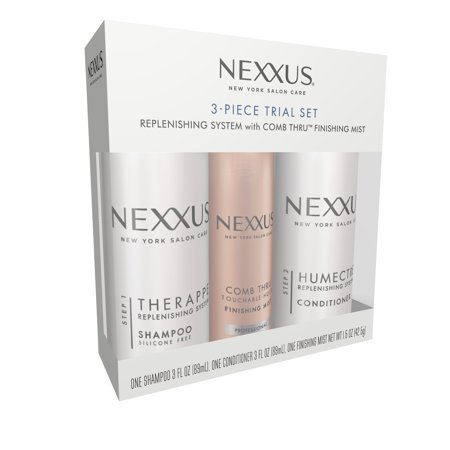 Nexxus for Normal to Dry Hair 3 Piece Trial Set, 3 oz and 1.5 - Hair 3 Piece Set