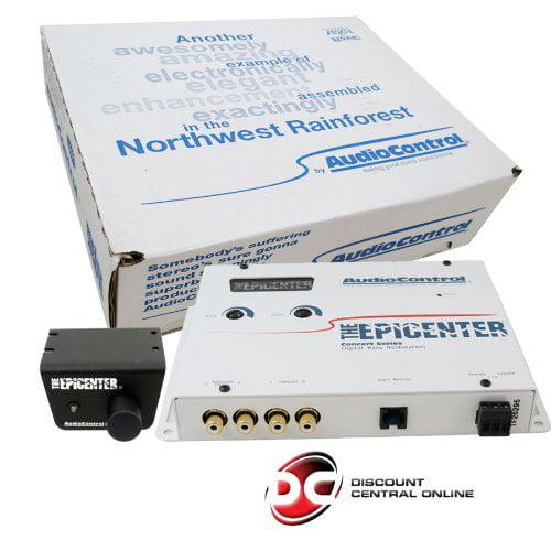 Audio Control Audiocontrol Epicenter Epicenter Car Audio Digital Bass Equalizer White