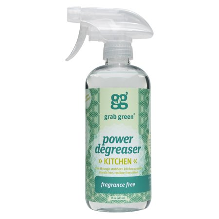 Grab Green Degreaser Cleaner, Fragrance Free, 16 fl Oz