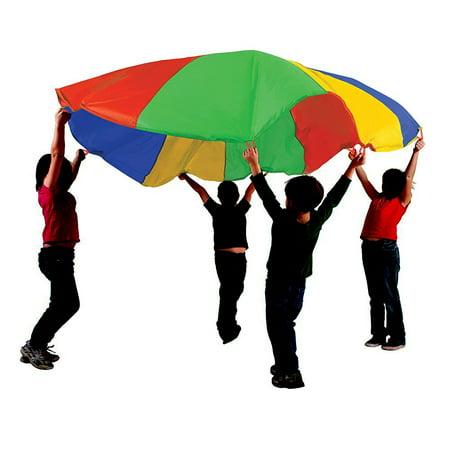 6' Outside Play Parachute with 8 Handles Parachute 24 Diameter 20 Handles
