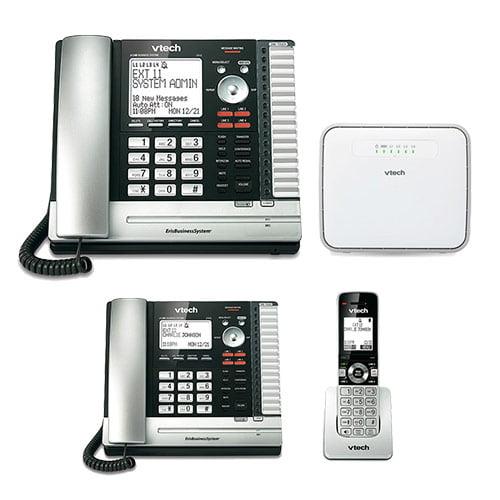 Vtech UP416 + UP406 + UP407 ErisBussiness Phone w/ Extension Desksets