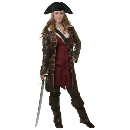 Plus Size Womens Caribbean Pirate Costume (Plus Size Ladies Pirate Costume)