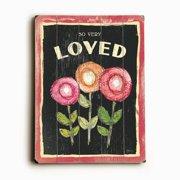 Artehouse LLC Three Flowers by Flavia Graphic Art Plaque