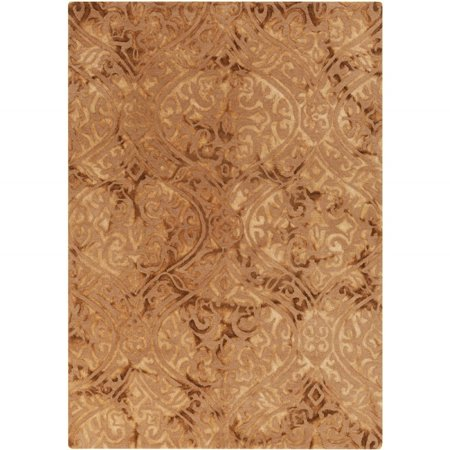 Belladonna Two Light - Contemporary Belladonna Collection Area Rug in Olive and Oval, Rectangle, Round, Runner Shape