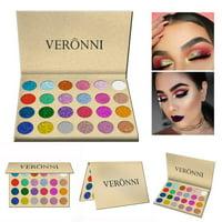 24 Colors Diamond Rainbow Eyeshadow Glitter Eye shadow Magnet Palette