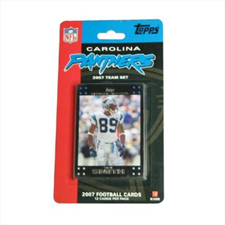 C&I Collectibles 2007 Football Card Team Set - Carolina Panthers