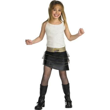 (Morris Costumes Girls Hannah Montana Qualty Chd 4 6X, Style DG6671L)