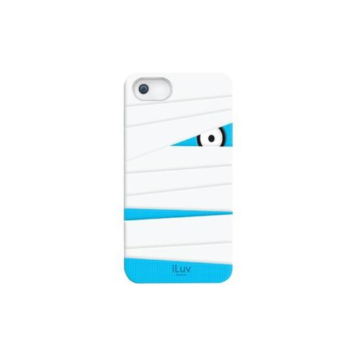 Iluv ILUV ICA7T327WHT iPhone 5 Mummy Silicone Character Case (White) ILVICA7T...