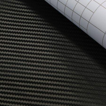 Center Console Wrap Kit Carbon Fiber Sticker Fit For Tesla Model 3