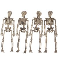 Loftus Halloween Decaying Skeleton 5 Feet Hanging Garland (Tan)