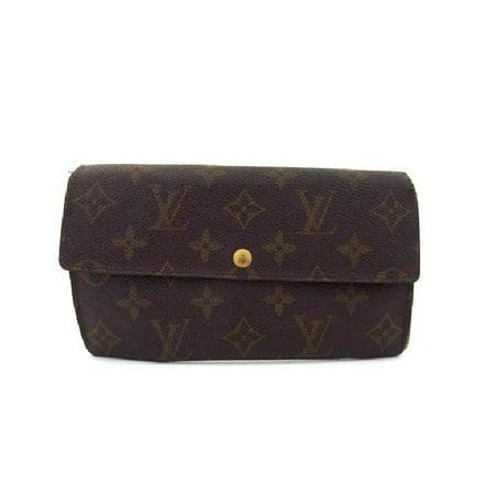 Louis Vuitton Monogram Speedy 30 - Louis Vuitton Monogram Bifold Sarah Long Wallet 217435