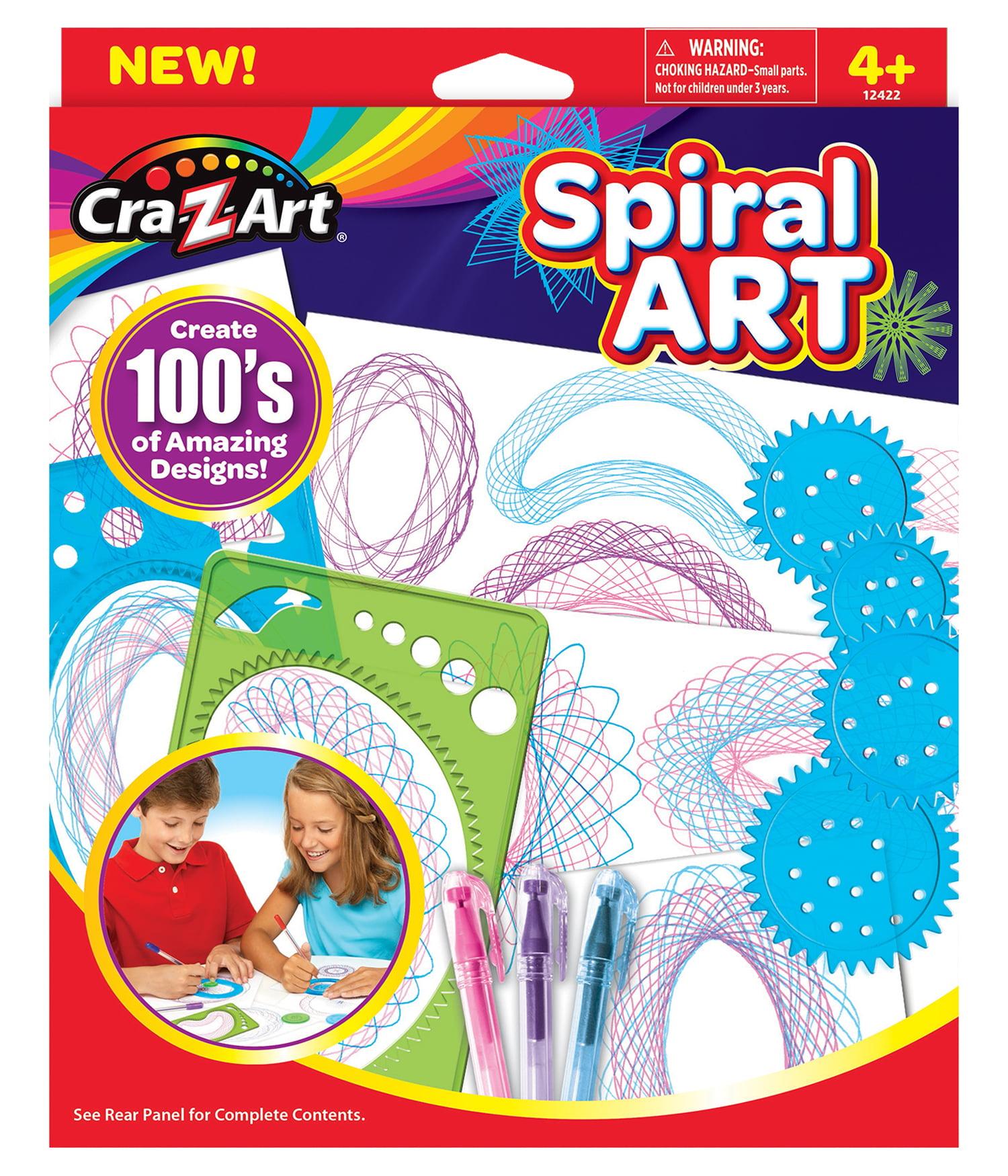 Spiral Art by CRA-Z-ART