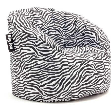 Purely Inspired Big Joe Lumin Chair Zebra Walmart Com