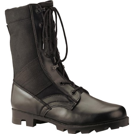 Rothco 5090 Black Jungle Boot with Cordura Upper and Panama Sole